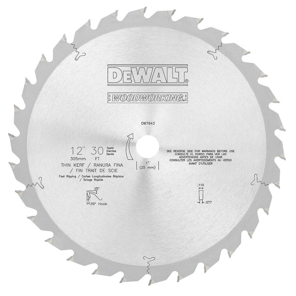 Dewalt 12 carbide combination circular saw blade number of teeth zoom outreset put photo at full zoom then double click greentooth Images