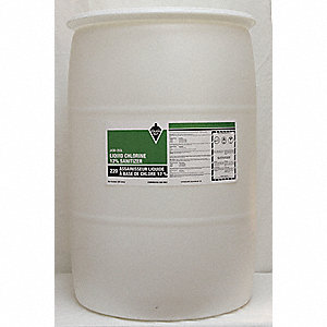 SANITIZER 12PCT CHLORINE 205L DRUM