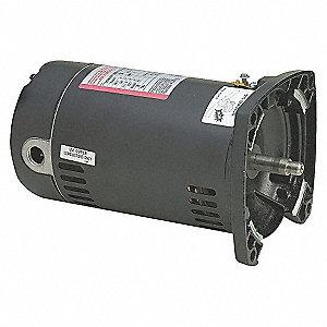 PUMP MOTOR,1-1/2 HP,3450,115/230 V,
