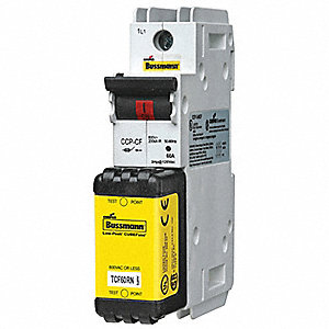Circuit Protector, 600VAC Voltage, 60 Amps, Number of Poles: 1