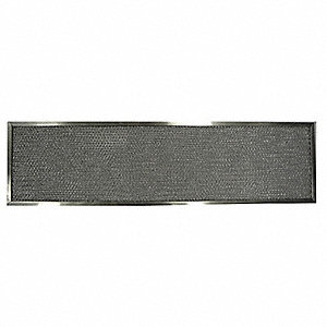 Alum Mesh Filter,1/4In Dx12-1/8Hx41-3/4W