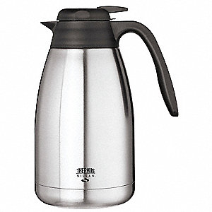 Vacuum Insulated Carafe,Lever Lid,50 oz