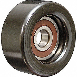 IDLER PULLEY 76MM FLAT WO/FLANGE