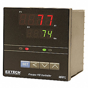 1/4 DIN PID CONTROLLER W/4-20MA OUT