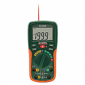MINI DMM AND IR THERMOMETER W/NIST