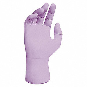 LAVENDER* NITRILE EXAM GLOVES, M