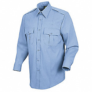 Deputy Deluxe Shirt,Lt. Blue,16 In.