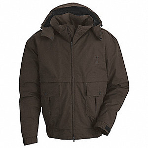 Jacket,No Insulation,Brown,5XL