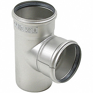 "Tee, 3"" Pipe Size - Pipe Fitting"
