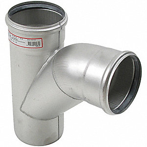 "Combination Wye/Bend, 2"" Pipe Size - Pipe Fitting"