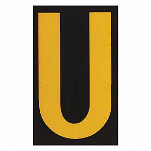 Reflective Numbers And Letters,U,PK25