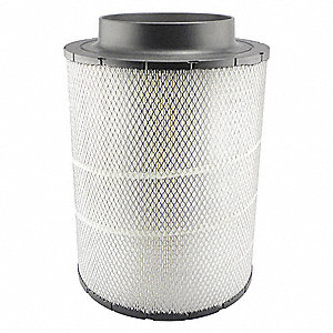 "Air Filter, Round, 17-9/16"" Height, 17-9/16"" Length, 12-19/32"" Outside Dia."