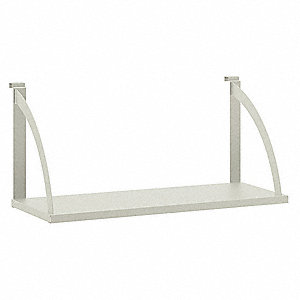Office Cubicle Hanging Shelves. Hanging Shelf 30in W,light Gray Office  Cubicle Shelves