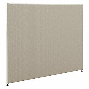 System Panel,60In H X 72In W,Seaway Gray