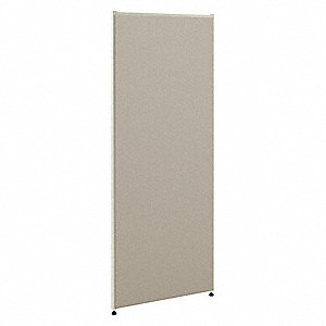 System Panel,60In H X 36In W,Seaway Gray