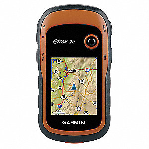 "4"" x 1.3"" x 2.1"" Handheld GPS Navigator, Orange"
