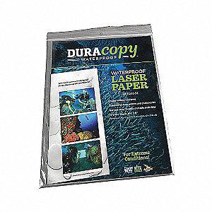 DURACOPY  WHITE  8.5 X 11 25 SH