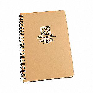SPIRAL NOTEBOOK  UNIVERSAL TAN