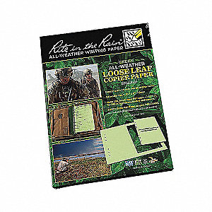COPIER PAPER LOOSE LEAF GREEN 150SH