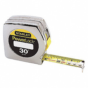 TAPE RULE POWERLOCK 30FTX1IN