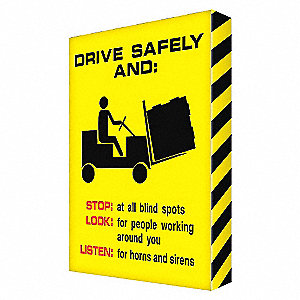 VISUAL EDGE DRIVE SAFETY 24X18