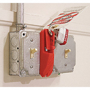 LOCKOUT UNIV WALL SWITCH