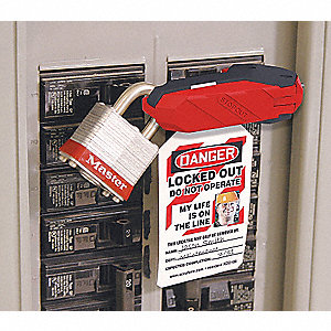 LOCKOUT 120/240 CIRCUIT BREAKER