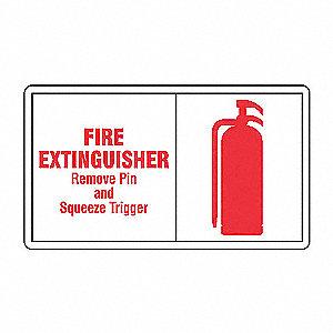INFO LBL FIRE EXTG 3 1/2X5