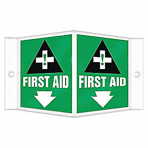 PROJECTION SIGN FIRST AID 3D