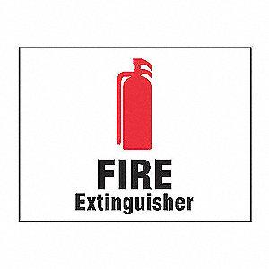 SAFETY SIGN FIRE EXTINGUISHER VIN