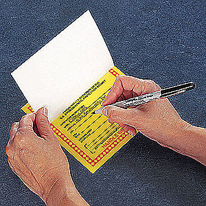 LABEL HAZARDOUS WASTE PAPER