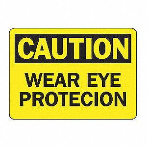 SAFETY SIGN WEAR EYE PROT VINYL