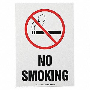 SAFETY SIGN NO SMOKING VINYL