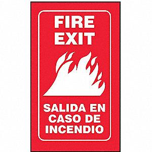 3D PROJ SIGN FIRE EXIT BILNG