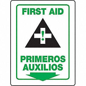 3D PROJ SIGN FIRST AID BILNG