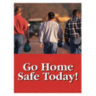 POSTER 24X18 GOLD HOME SAFE