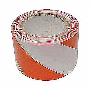 MARKING TAPE RED/WHITE 3X108FT
