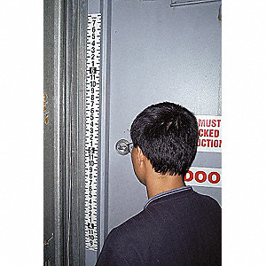 SECURITY HT RULER TAPE 44-88 IN