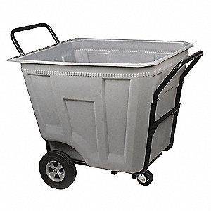 Hvy-Duty Cart,11.8 cu ft,450lb Load,Gry