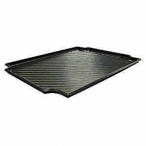 "30"" x 24"" Containment Tray, Black&#x3b; For Use With 4UX43, 4DV11, 4DV10, 4UX47, 4DU99, 4DU98, 4UX51, 4DU"