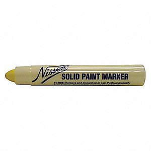 Paint Crayon,5/16 In.,Yellow