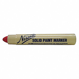 Paint Crayon,5/16 In.,Red