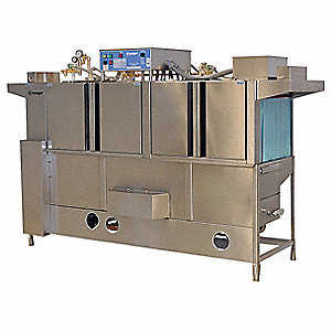 Conveyor Dishwasher,w/Booster,W86 In,L-R