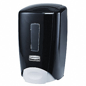 Soap Dispenser,500mL,Black,PK10