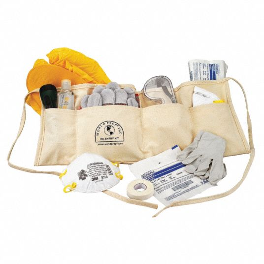 Disaster Re-Entry Kit, Size:  Universal, Number of Components: 15