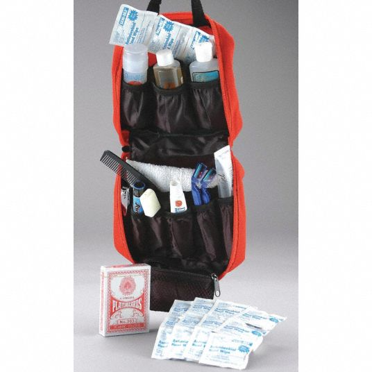 Deluxe Personal Comfort Kit, Red; Number of Components: 29