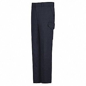 "New Generation Stretch Cargo Pants. Size: 14, Fits Waist Size: 34-1/2"", Inseam: 36"", Navy"