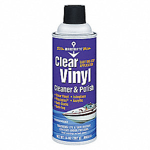 Vinyl Cleaner and Polish,Yellow