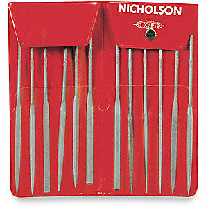 FILE NEEDLE SET 2 5-1/2IN/140M AST