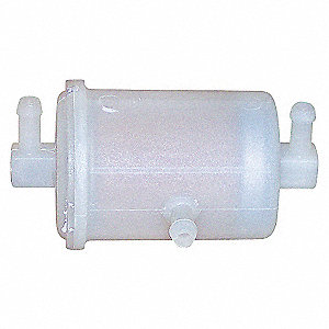 PLASTIC IN-LINE FUEL FILTER